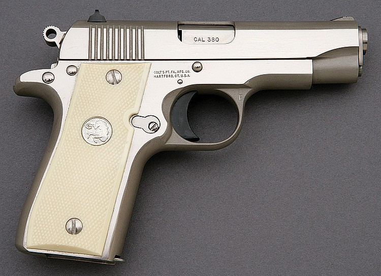 Colt government 380 model semi-auto pistol