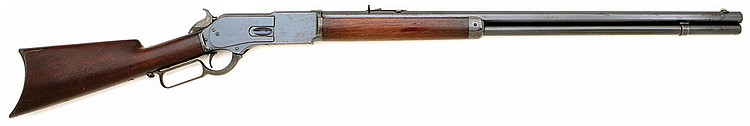 Winchester Model 1876 First Model Open Top Rifle
