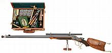 Winchester Stevens-Pope Custom Muzzle Loading High Wall Schuetzen Rifle