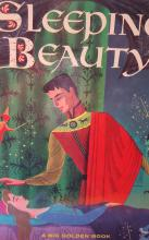 1957 Walt Disney's Sleeping Beauty (A Big Golden Book) Full Color Book
