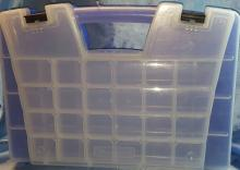 Arco - Mils Portable Storage Organizer with over 40 Compartments