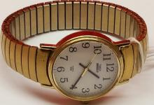 Vintage Monarch Swiss Wrist Watch Stainless Steel with 10K Rolled Gold Bezel, Vintage Wenger S.A.K Wrist Watch (Marlboro Design and Vintage Timex Indiglo Watch