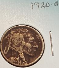 1920-D Buffalo Nickel