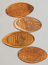 Mixed Collector Rolled Pennies - Quantity of 10