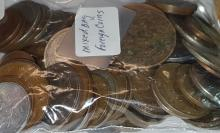 Mixed Bag of Foreign Coins