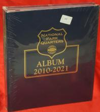 Whitman Classic National Park Quarters Folder 2010-2021 (NEW Folder)
