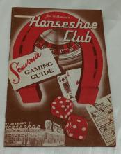 Horshoe Club Las Vegas Souvenir Guide