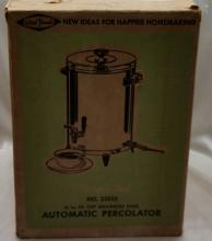 West Bend Insulated Automatic Perculator
