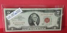 1963 $2.00 Red Seal Bank Note