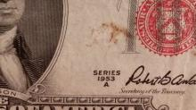 1953-A & B $2.00 Red Seal Bank Notes