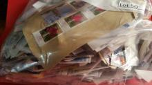 Large Bag of Foreign Cancelled Stamps
