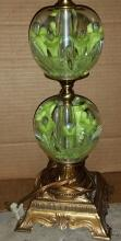 ST Clair Paperweight Lamp