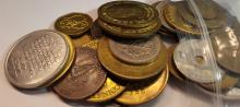 Over 1/2 Pound of Mixed Tokens