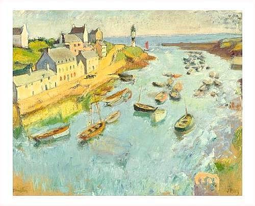 TABLEAUX XIX SIECLE Jean PUY (1876-1960) VOILIERS