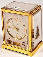 Jaeger LeCoultre: a Marina 'Atmos' clock, the