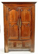 A 19th Century French oak and fruitwood