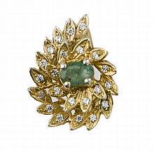 Emerald ring cti 1,50 c.ca