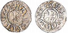 Dauphiné - Archevêché de Vienne - Thibaut et Rodolphe III - Denier