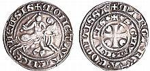 Hainaut - Marguerite de Constantinople - Petit gros au cavalier