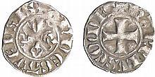 Comté d'Anjou - Charles II - Denier
