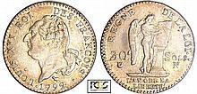 Constitution (1791-1792) - 30 sols type FRANCOIS 1792 N (Montpellier) 2 ème sem