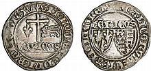 Henry VI de Lancastre (1422-1453) - Blanc aux écus - Saint-Lô
