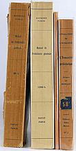 Lot de 4 ouvrages sur la Préhistoire