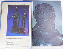 Lot de 2 livres traitant de l'archéologie romaine