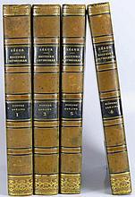 Histoire universelle - Histoire romaine par le Comte de Ségur - 4 tomes de 1839