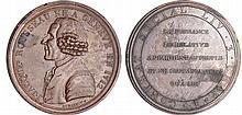 Constitution (1791-1792) - Médaille à l'effigie de J.J. Rousseau