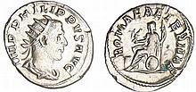 Philippe 1er - Antoninien (247-249, Rome) - Rome assise