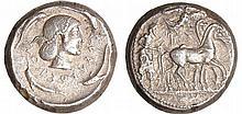 Sicile - Syracuse - Tétradrachme (485-479 av. J.-C)