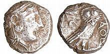 Attique - Athènes - Tétradrachme (350-306 av. J.-C.)