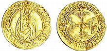 Aquitaine - Charles de France - 1/2 Hardi d'or (Bordeaux)