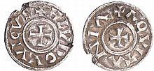 Louis 1er, roi d'Aquitaine (780-814) - Obole (Bourges)