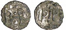 Pépin le Bref (751-768) - Denier (Dorestadt) monnaie fourrée