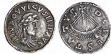 Louis 1er Le Pieux (814-840) - Denier (Dorestad)