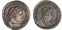 Constantin 1er - Follis (310-312, Trèves) - Le Soleil