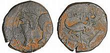 Agrippa et Auguste - Dupondius de Nîmes - (9-3 av. (J.-C.)