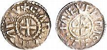 Charles II Le Chauve (840-877) - Denier (Nevers)
