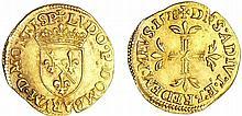 Dombes - Louis II de Montpensier - Ecu d'or ou 1/2 pistole 1578 (Trévoux)