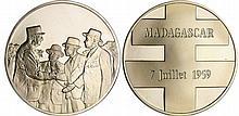 Madagascar - Visite de Charles De Gaulle 7 juillet 1959