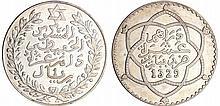 Maroc - Moulay Hafid I (1908-1912) - 10 dirhams 1329 AH 1911 (Paris)