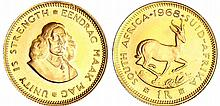 Afrique du sud - 1 rand 1968