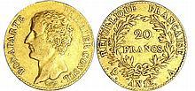 Bonaparte premier consul (1799-1804) - 20 francs An 12 A (Paris)