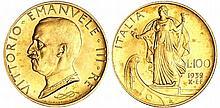 Italie - Vittorio Emanuelle III (1900-1946) - 100 lire 1932 X (Rome)