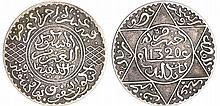 Maroc - Abdül Aziz 1er (1894-1908) - 5 Dirhams 1320 AH 1902 (Londres)