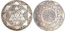 Maroc - Abdül Aziz 1er (1894-1908) - 10 Dirhams 1313 AH 1896 (Berlin)