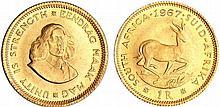 Afrique du sud - 1 rand 1967