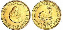 Afrique du sud - 2 rand 1962